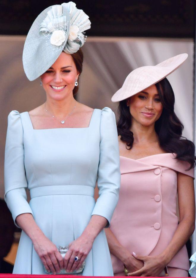 Les premières apparitions de Kate et Meghan en tant que duchesse