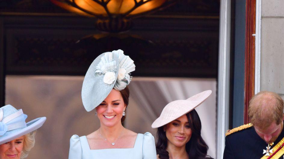 Retour sur les premières apparitions publiques de Kate et Meghan en tant que duchesse
