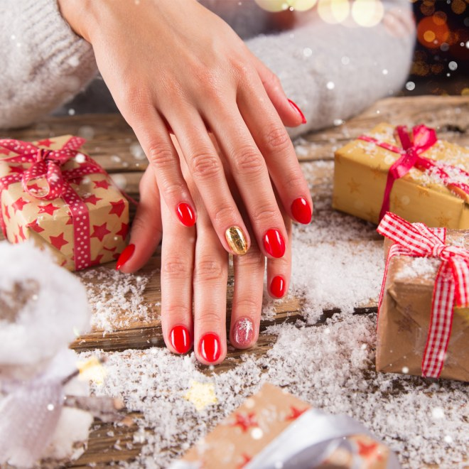Unghie Natalizie Ecco Le Più Belle Nail Art Per Natale Album Di Foto