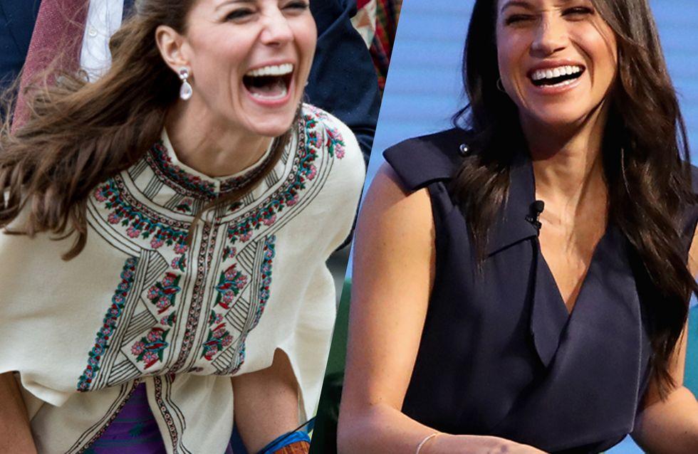 Tous les fous rires les plus adorables de la famille royale britannique