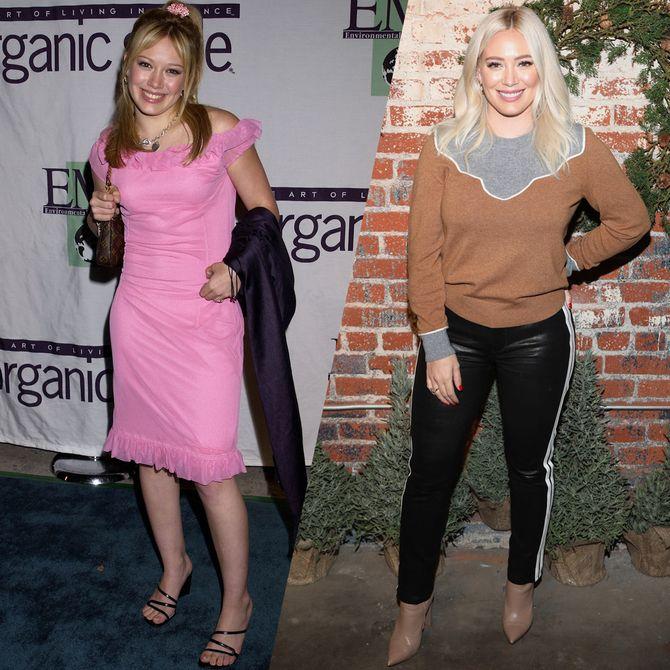 Retour sur l'évolution mode d'Hilary Duff depuis Lizzie McGuire