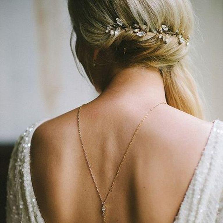 60 vestidos de novia con espaldas impresionantes : foto - enfemenino