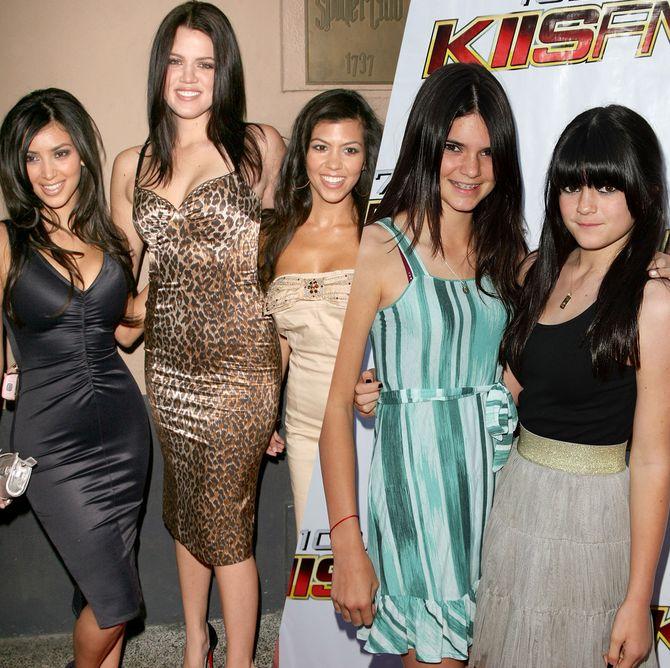 Retour sur la spectaculaire transformation du clan Kardashian-Jenner