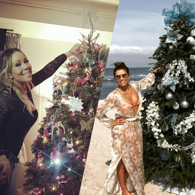Il Natale delle star su Instagram