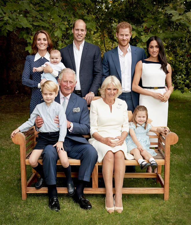 La  famiglia reale inglese