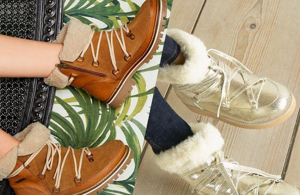 Des bottes fourrées pour réchauffer vos pieds