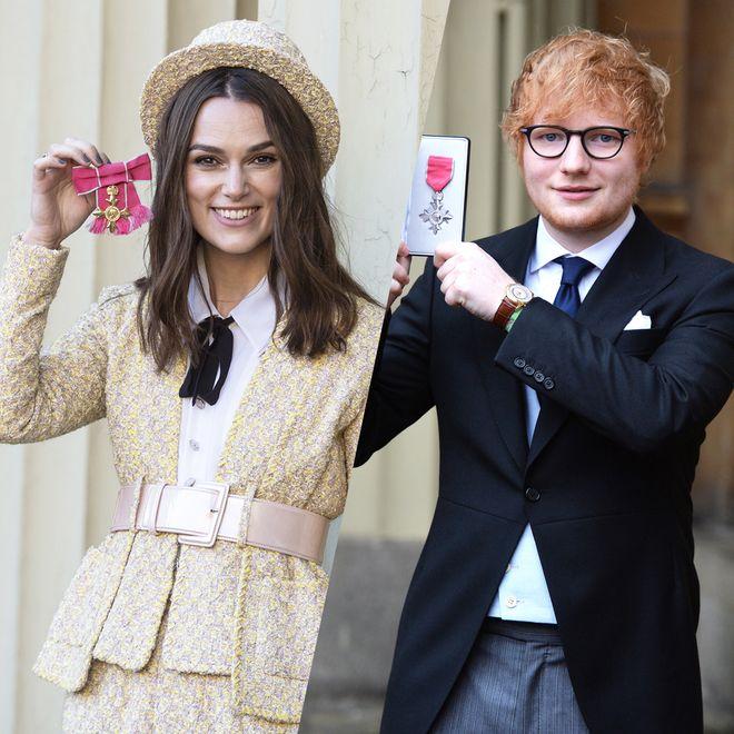 Les stars décorées par Buckingham Palace