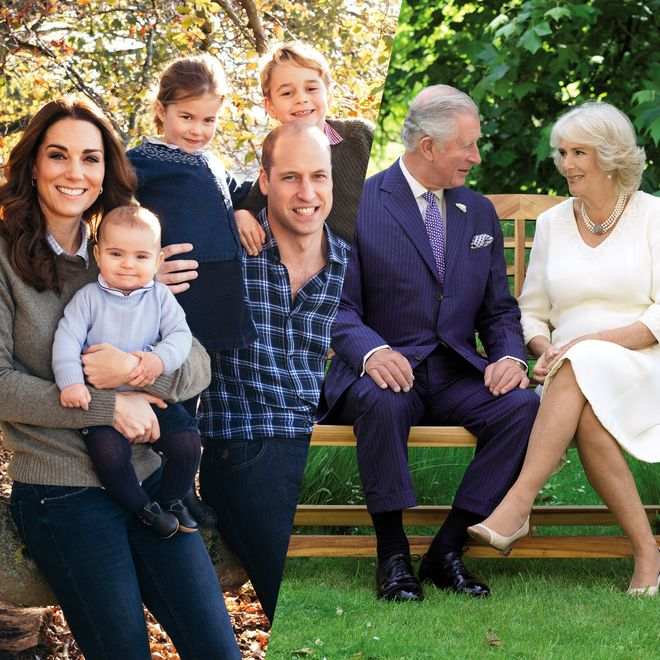 Découvrez les traditionnelles cartes de voeux de la famille royale d'Angleterre
