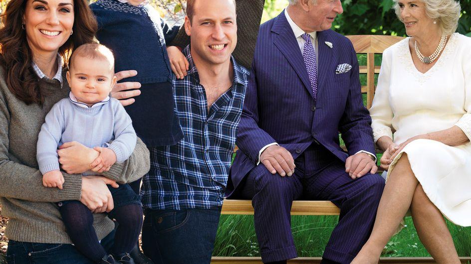 Découvrez les plus belles cartes de voeux de la famille royale d'Angleterre
