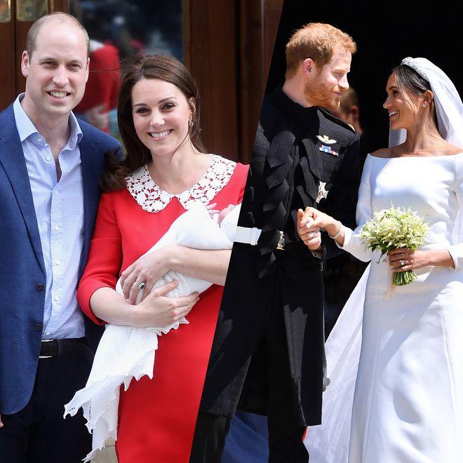 Les meilleurs moments de la famille royale d'Angleterre en 2018