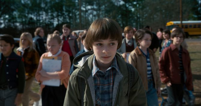 Personajes de Stranger Things en la vida real