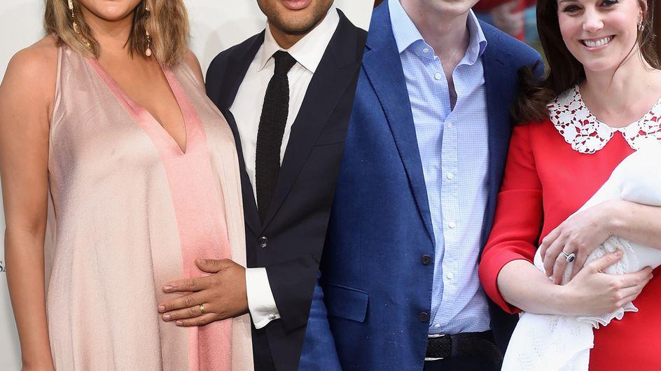 Les couples de stars qui sont devenus parents en 2018