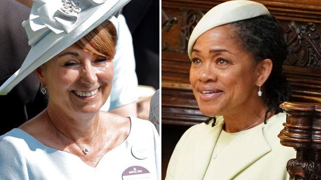 Las madres de las duquesas, ¡igualitas!