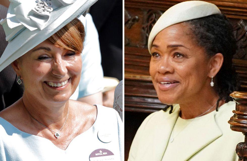 15 cosas que Carole Middleton y Doria Ragland tienen en común