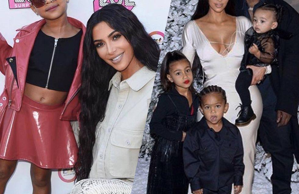 Kim Kardashian et Kanye West, heureux parents de 4 enfants : leur album de famille