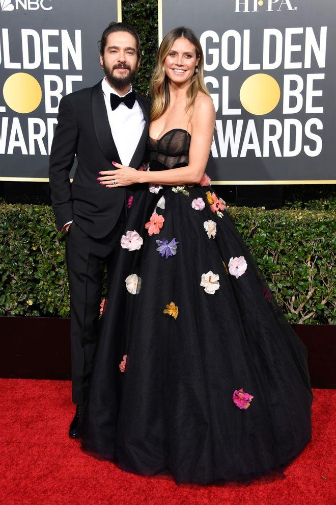 Tom Kaulitz & Heidi Klum