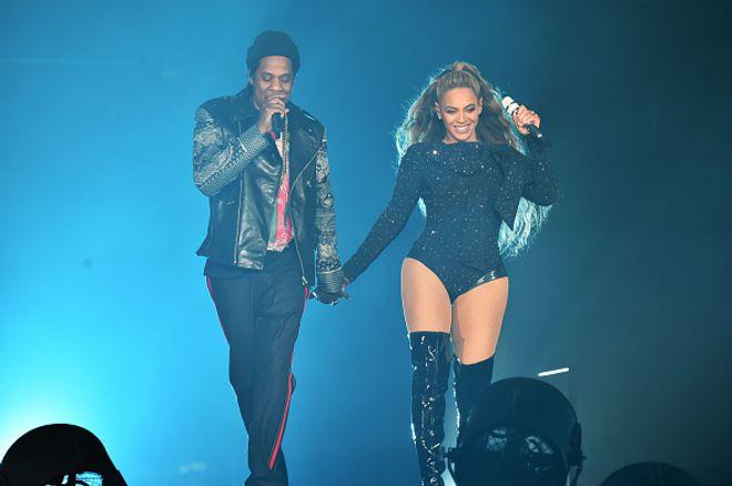 Beyoncé und Jay-Z bei ihrer 'On The Run'-Tour im Juni 2018