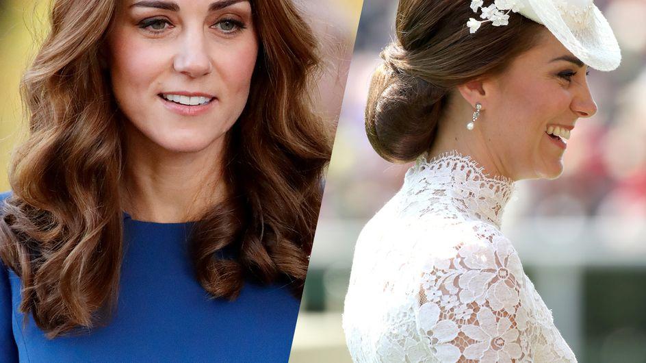 Et si on s'inspirait des plus belles coiffures de Kate Middleton ?