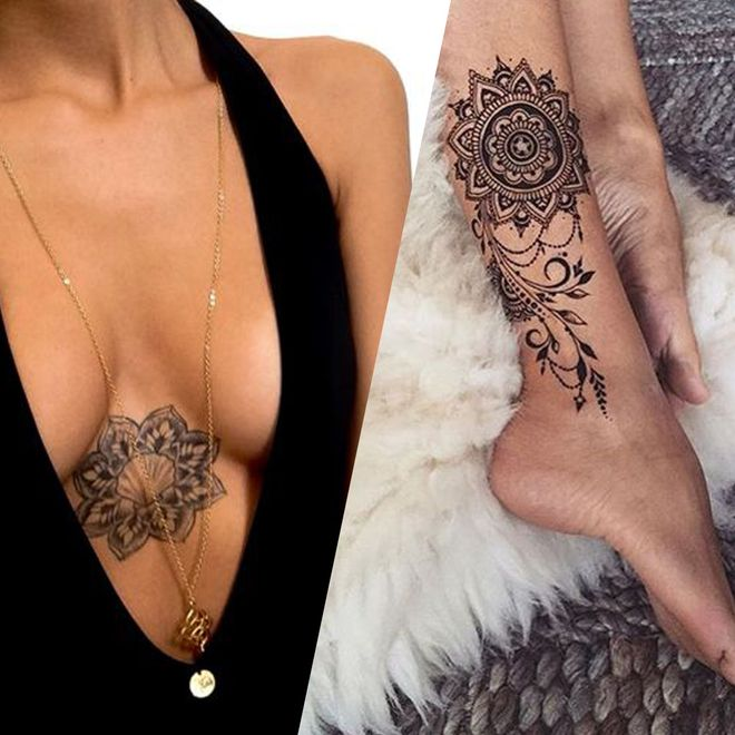50 idées de tatouages mandala