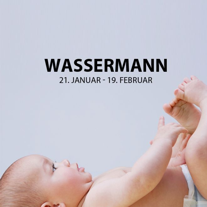 Die schönsten Vornamen für Wassermann-Babys