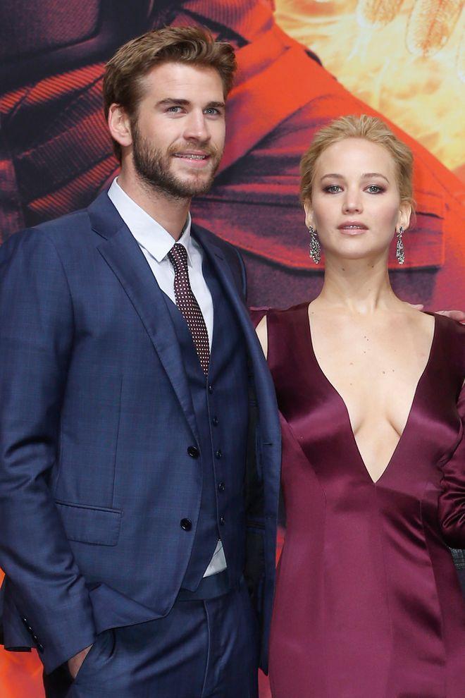 Schauspieler, die ihre Filmpartner nur ungern küssten: Jennifer Lawrence und Liam Hemsworth