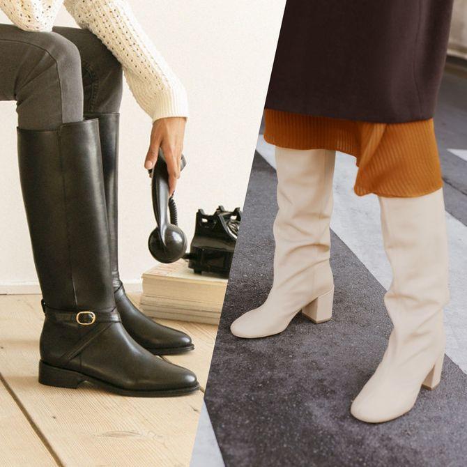 Des bottes hautes pour l'hiver