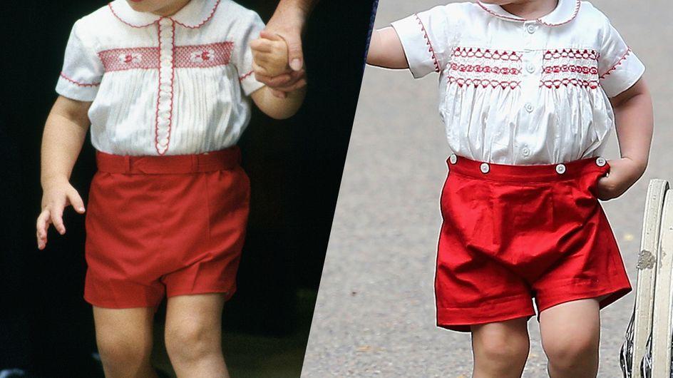 El príncipe George y su padre: todas las veces en las que han vestido igual