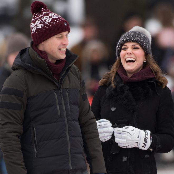 Prinz William und Herzogin Meghan haben gut lachen!