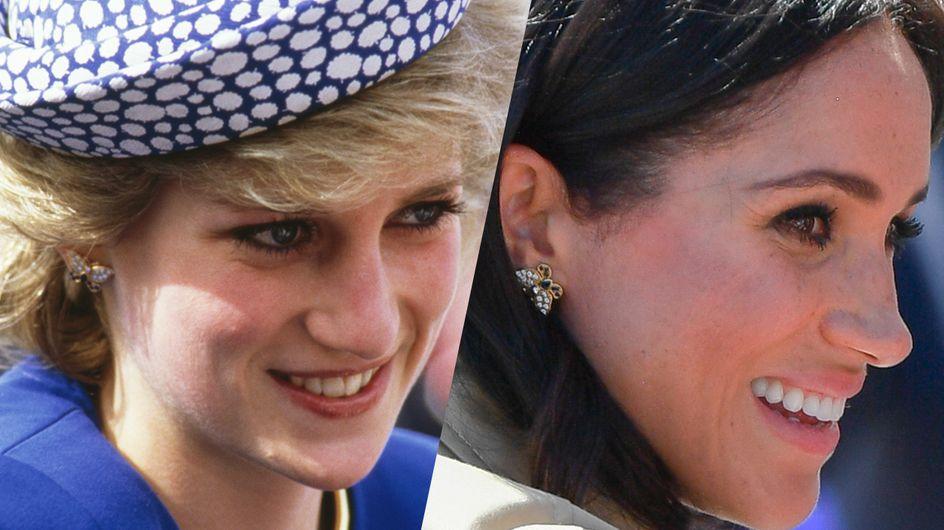 Quand Kate Middleton et Meghan Markle portent les bijoux de Lady Diana