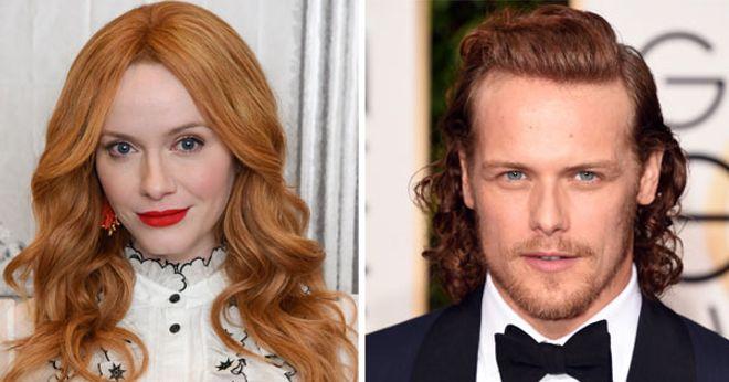 Stars mit roten Haaren