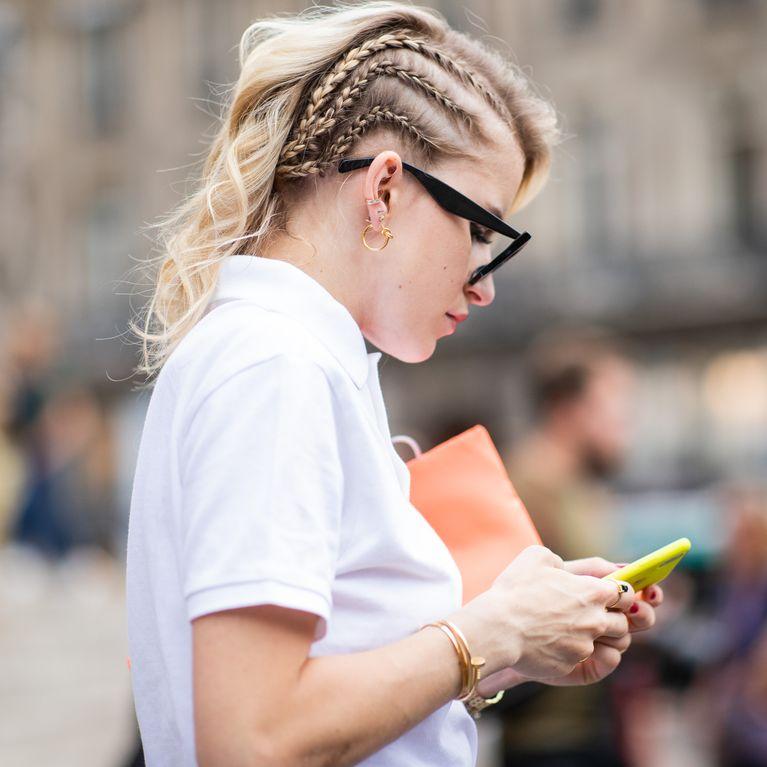 Peinados Con Trenzas Africanas Foto Enfemenino