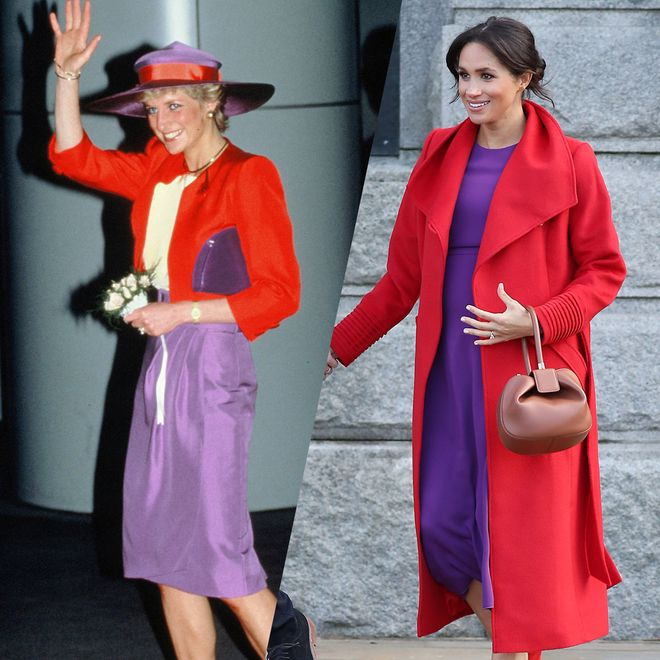 Meghans Outfits inspiriert von Lady Di