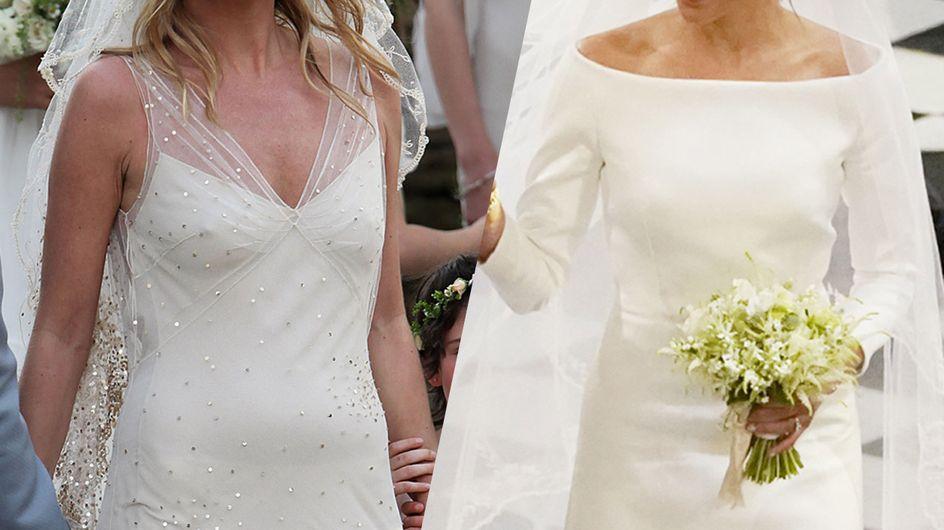 Les plus belles robes de mariée des stars