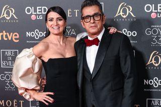 Los presentadores de la noche: Silvia Abril y Andreu Buenafuente