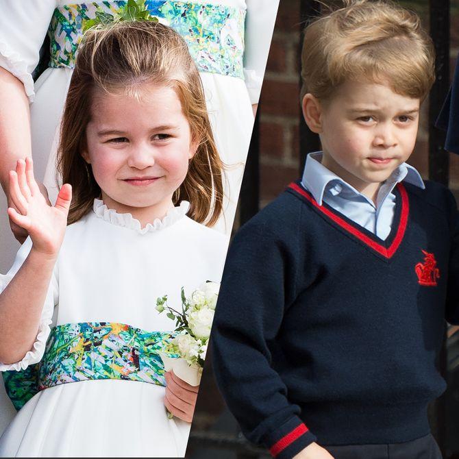 ¿Qué obligaciones tienen los pequeños George, Charlotte y Louis?