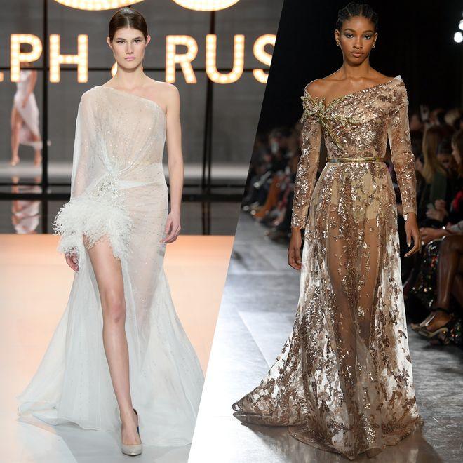 Die schönsten Kleider der Pariser Haute Couture Schauen