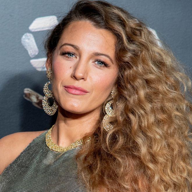 Blake Lively alla sfilata di Versace