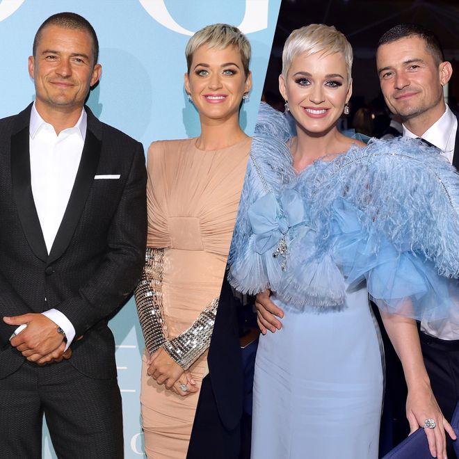 Les plus belles photos de Katy Perry et Orlando Bloom