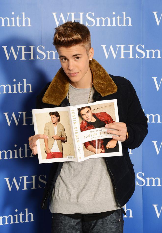 Stars, die ihre Memoiren geschrieben haben: Justin Bieber
