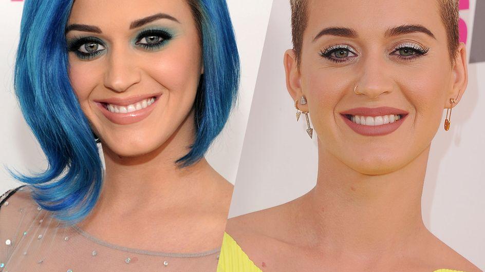 Katy Perry : retour sur son incroyable évolution capillaire