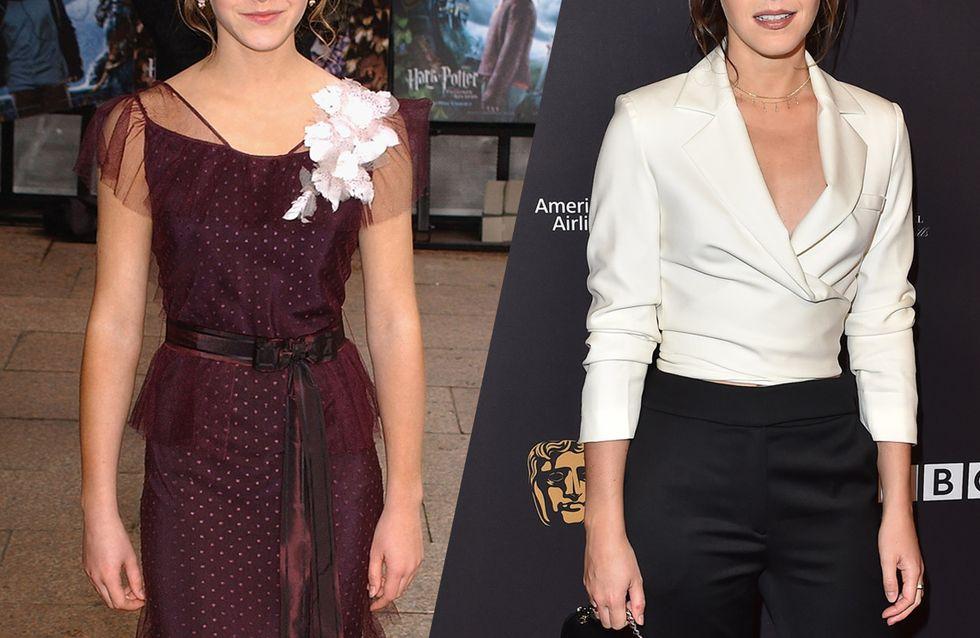 D'Harry Potter à aujourd'hui, retour sur l'évolution mode d'Emma Watson