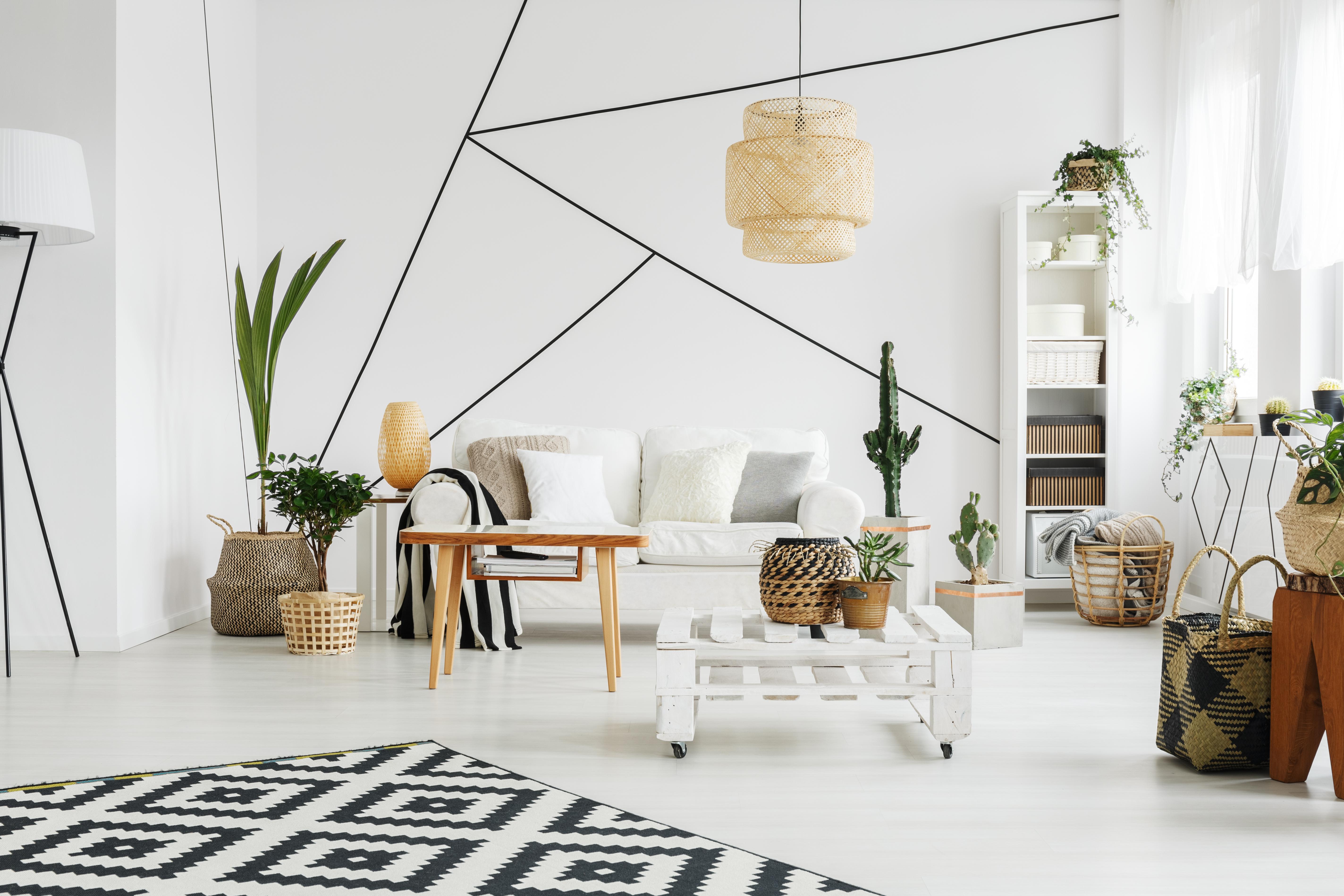 Peindre Triangle Sur Mur la décoration géométrique, la tendance de l'année : album