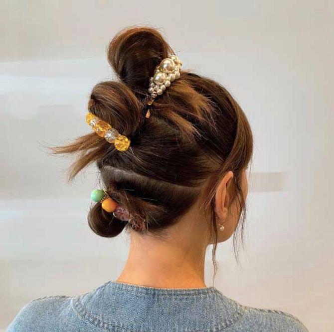 Le Triple Bun, la tendance coiffure incontournable du moment