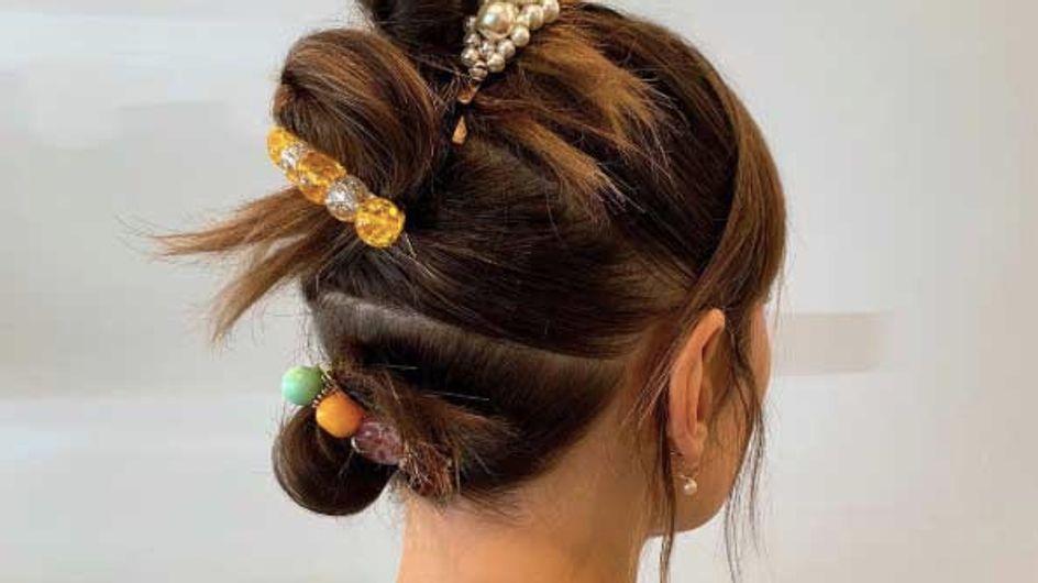 """Le """"triple bun"""", la tendance coiffure incontournable du moment"""