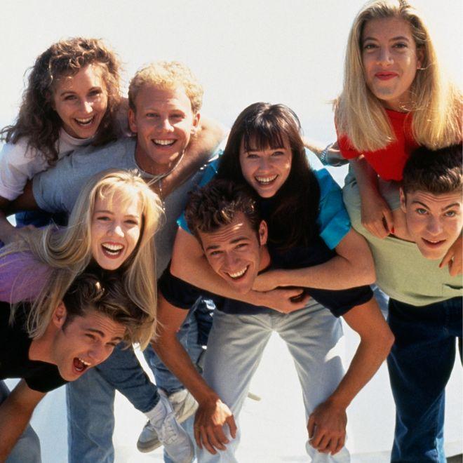 Der Cast von 'Beverly Hills, 90210'