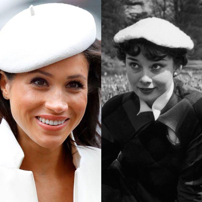 Meghan Markle und Audrey Hepburn: Diese Mode-Vorlieben verbindet die beiden Frauen
