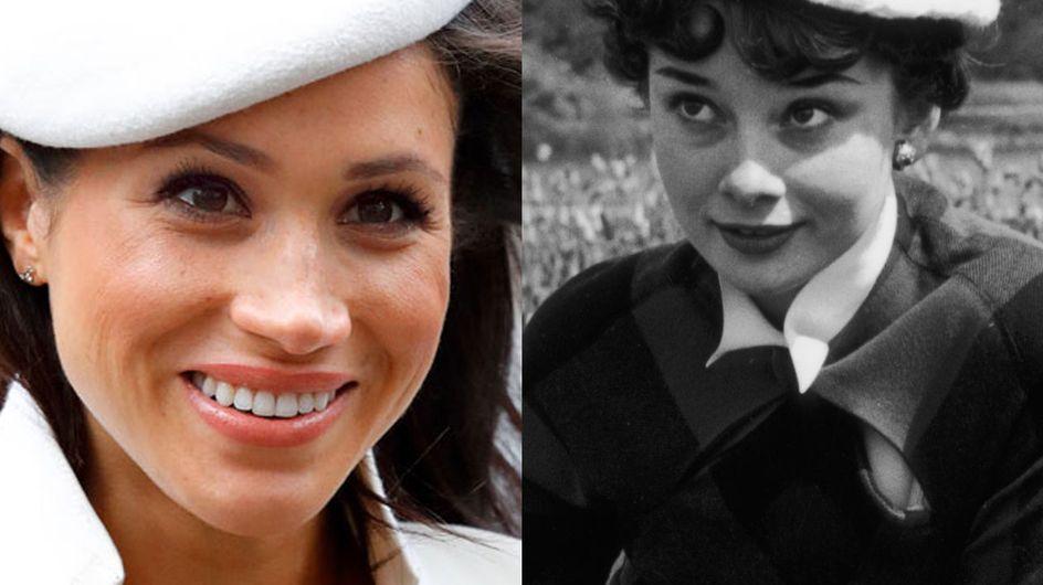 Meghan Markle und Audrey Hepburn: Diese Outfits verbinden sie