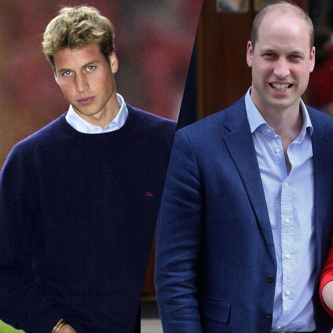 Retour sur l'évolution du prince William