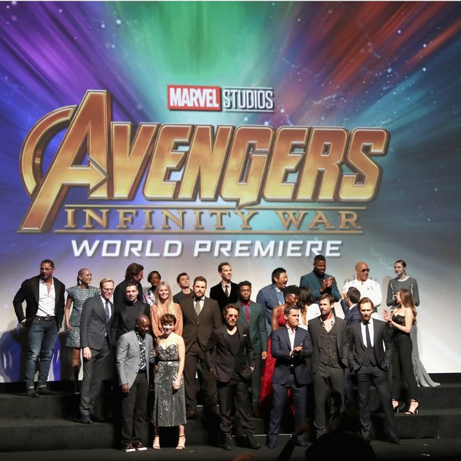 Il cast di The Avengers - Infinity War