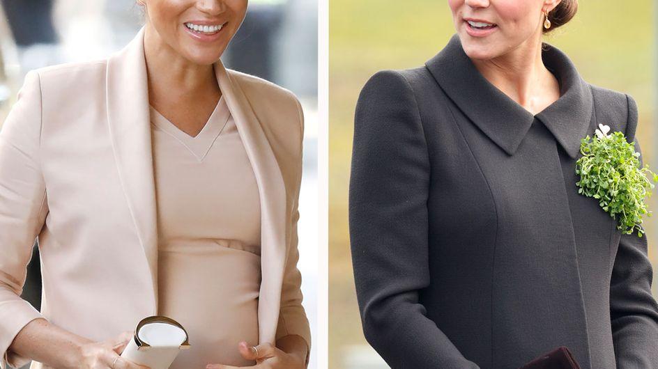 Meghan vs. Kate: Wer hat den schöneren Schwangerschaftslook?